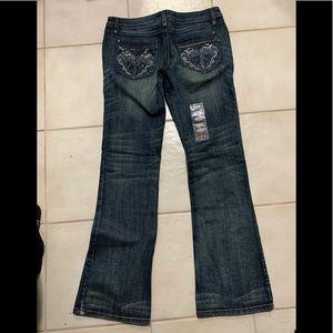 Women's Harley Davidson  jeans, embellished, 6,HOT